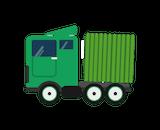 Body Truck: <br>H4.1m; W3m; L8.4m